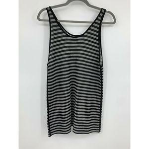 T Alexander Wang S tank reversible striped knit